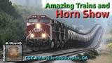 6H4k Amazing Trains and Horn Show, CSX Abbeville Subdivision, GA 0909-232018 mbmars01