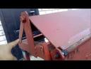 Листогиб ручной самодельный