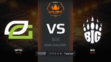 OpTic vs BIG, map 2 train, FACEIT Major New Challengers Stage