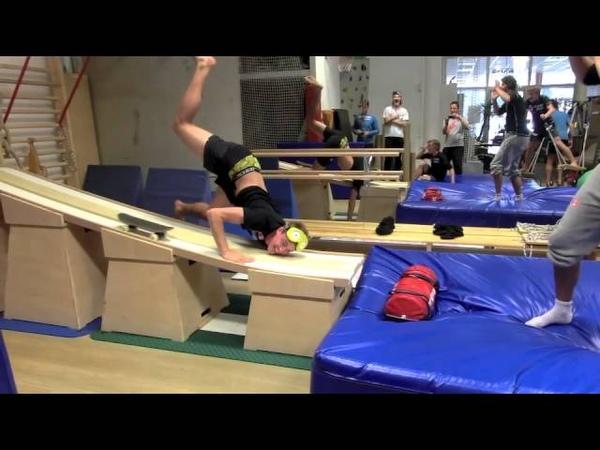 Norwegian Nationalteam Skijumping - Training @ EMPOWER