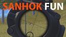Cari Aman, Cari Ayam - PUBG Mobile Sanhok Map, Indonesia Gameplay