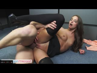 Amirah Adara & Johnny Castle [ Brunettes &  In the office / Cumshot pubis, Beautiful lingerie, horsewoman, Shaved, Skirt, L