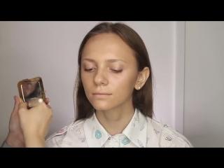 Весенний макияж. Пошаговое обучение.