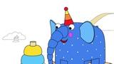 Раскраска Деревяшки - Пирамидка - Учим цвета - развивающие мультики - выпуск 16
