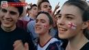 ENGLAND v CROATIA (1-2) FAN REACTS: de la euforia inicial a la desilusión del resultado...