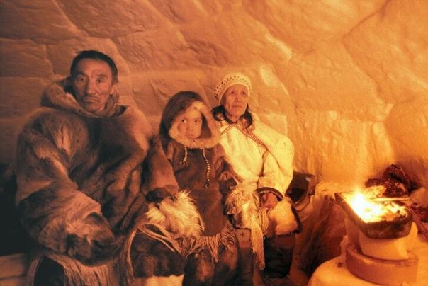 Иглу - традиционное жилище эскимосов