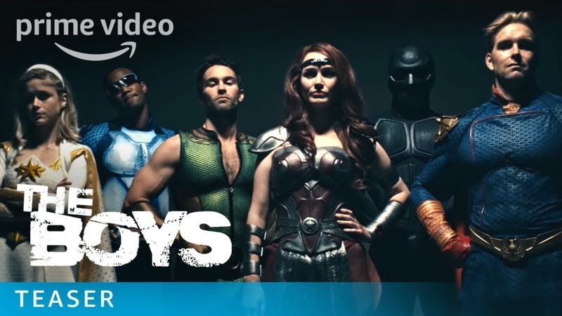 The Boys Uncensored Teaser Trailer: Spank Prime Video