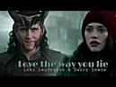 Loki Laufeyson Darcy Lewis Love the way you lie TaserTricks