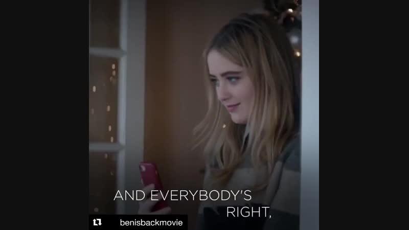 "KATHRYN NEWTON on Instagram_ ""Repost @benisbackmovie this FRIDAY! Dec 7th ・・・ T"