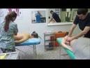Массажист универсал массаж выпускники часть 1.