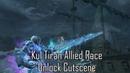 Kul Tiran Allied Race Unlock Cutscene (WIP)