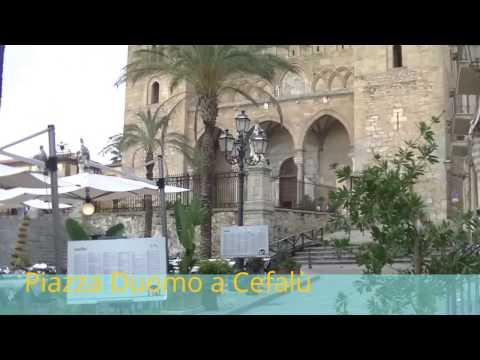 Прогулка по городу Чефалу (Cefalù). Сицилия.