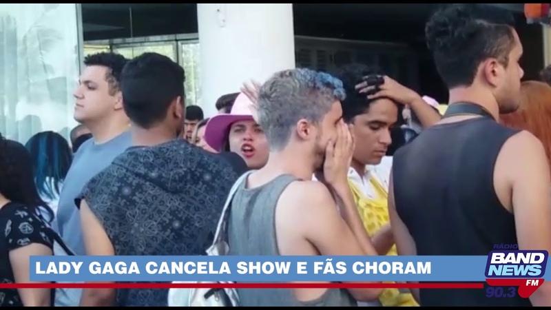 Lady Gaga cancela show no Rock in Rio e fãs choram na porta de hotel