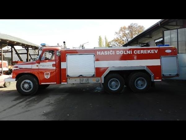 Tatra T-148 CAS 32 a její cesta k SDH Dolní Cerekev
