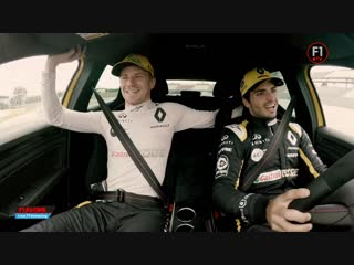 [RUS] On-board with Nico & Carlos in the Mégane R.S.