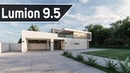 Lumion 9.5 Modern Villa Exterior Workflow Photo Realistic Render