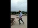 Michael Jacksons moonwalk at work