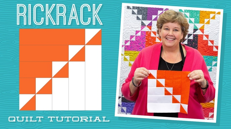 Make a Rickrack Quilt with Jenny Doan of Missouri Star Quilt Co (Instructional Video)