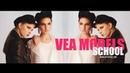 Бэкстейдж парной фотосъёмки в модельной школе VEA MODELS