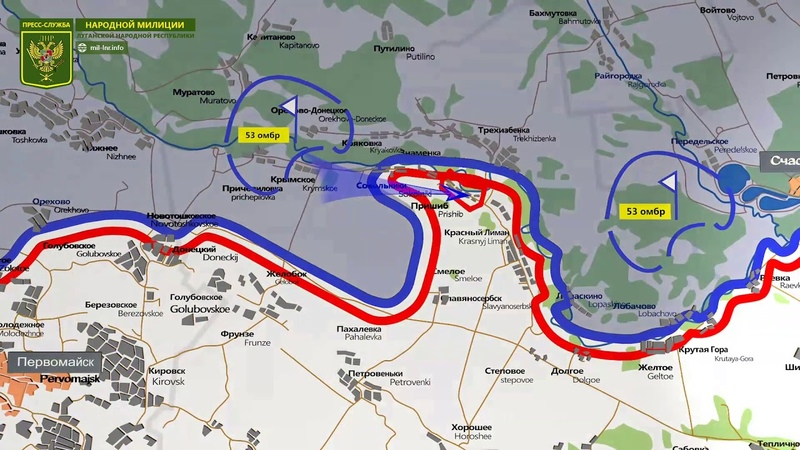 18 августа 2018 - Обстановка на линии соприкосновения за сутки   Карта обстрелов