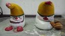 DIY Садовые гномы из цемента Garden gnomes from cement