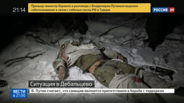 Новости на Россия 24 • Обстановка вокруг населенного пункта Дебальцево остается накаленной