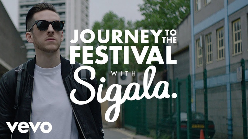 Sigala - Journey to the festival with Sigala - Sponsored by Mitchum