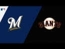 NL / 27.07.18 / MIL Brewers @ SF Giants 2/4
