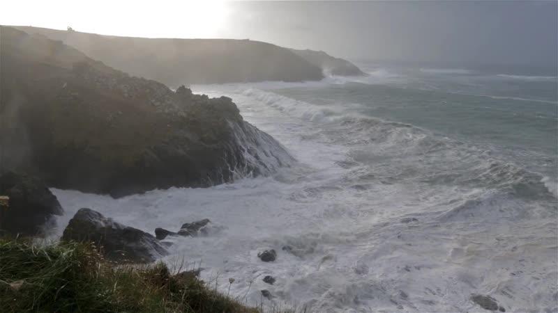 Winter Storm Hercules 06012014 Cornwall