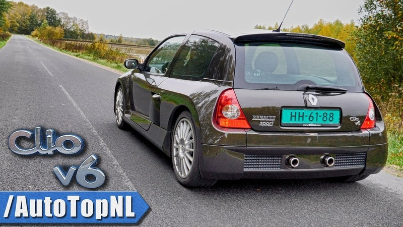 Renault Clio V6 2ph. ONBOARD by AutoTopNL