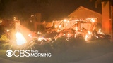Raging flames from Southern California wildfires jump house to house