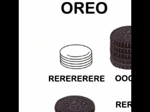 Oreo meme dank version