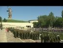 На Мамаевом кургане приняли присягу новобранцы железнодорожных войск