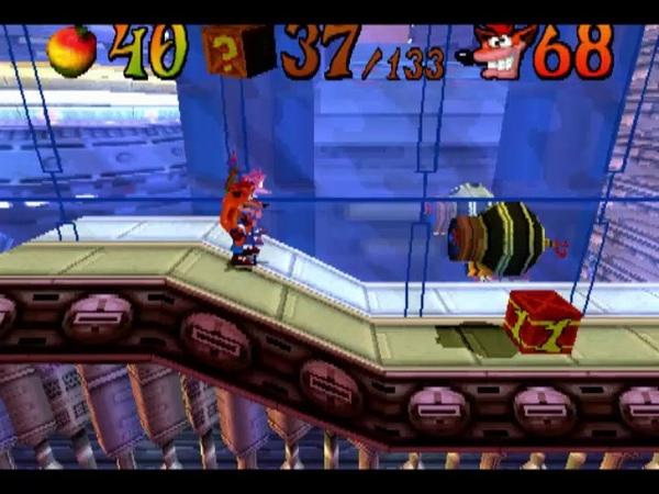 [PS1USA] Crash Bandicoot 3 Warped - 22. Level 19 Future Frenzy 1