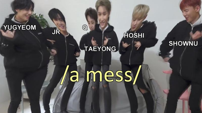 When kpop main dancers meet ft hoshi, shownu, q, taeyong, yugyeom, jr