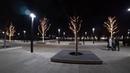 Парк Галицкого, Новогодний, ночной парк 2019 года г Краснодар