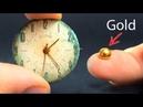 Wie man Gold aus alten Uhren bekommt Experiment