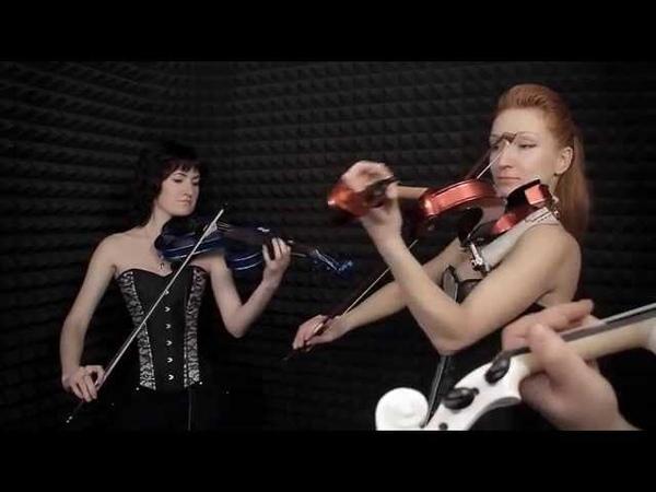 PALLADIO violins show group EliteRevolution - instruments STUGG