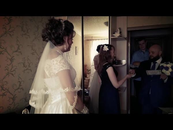 Коротко о сегодняшней свадьбе Игоря и Анастасии