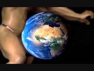 Шок!!! богоподобный рикардо милос зафлексился космическим сверх-гигантом и отразил инопланетную атаку!