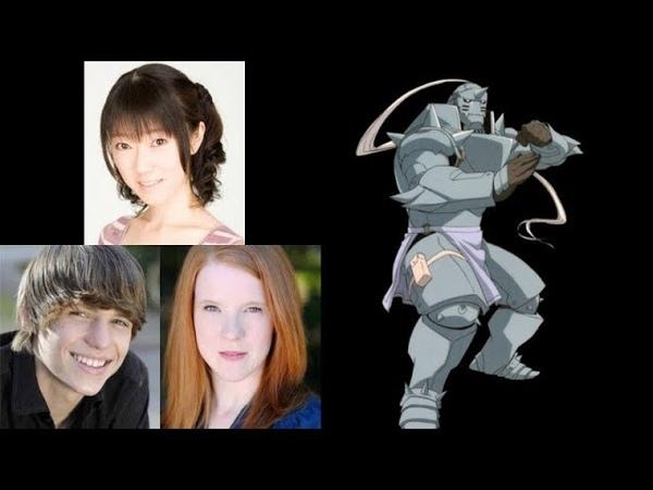 Anime Voice Comparison- Alphonse Elric (Fullmetal Alchemist)