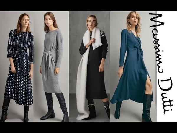 Nueva Colección Vestidos de Massimo Dutti Colección Otoño Invierno 2018 | Vestidos Bonitos