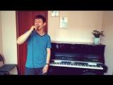 Репетиция многим известного ремейка на песню Троллейбус (Виктор Цой и гр. КИНО)