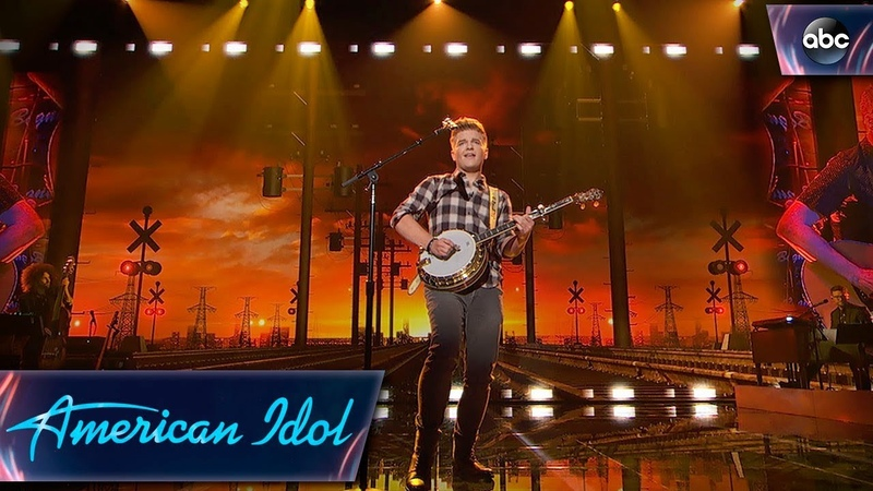 Caleb Lee Hutchinson Sings Midnight Train to Memphis - Top 14 - American Idol 2018 on ABC