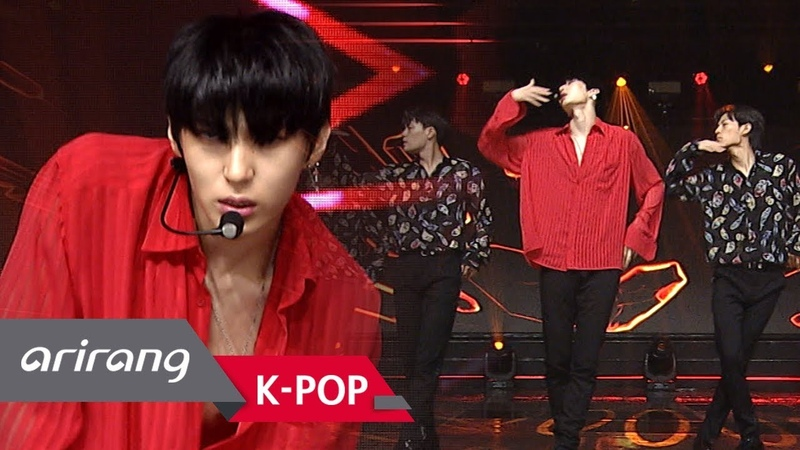 |180824| VIXX LEO(레오) - Touch Sketch @ Simply K-pop