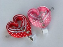 HOW TO Make a Layered Valentines Day Heart Clip Tutorial by Just Add A Bow