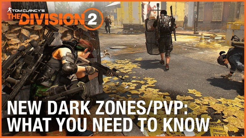 The Division 2 New Dark Zones and PVP – What You Need to Know | Ubisoft
