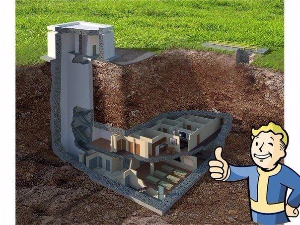 Реальный бункер, способный выдержать ядерный взрыв мощностью в 20 килотонн, выставлен на продажу за $17.5 миллионов. В отличие от Fallout, покидать его вам вряд ли когда-нибудь захочется тут и