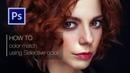 Photoshop Tutorial. High End Color Grade and Retouching women portrait