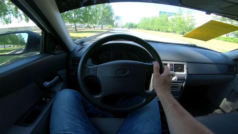 LADA Priora 1.6L POV Test Drive
